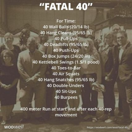 fatal forty